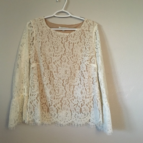 37a96ecfcdecce Rose olive lace bell sleeve blouse cream nude. Rose & Olive.  M_5bd3a462534ef99e84ccb835. M_5bd3a47e2e14784b126901a5.  M_5bd3a47faaa5b87a07c95634